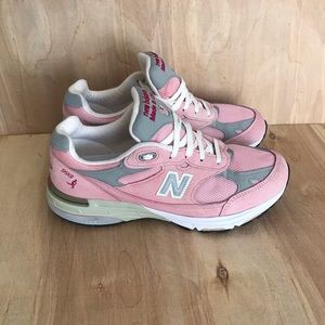 New Balance 993 Size 9 Breast Cancer Pink Shoes